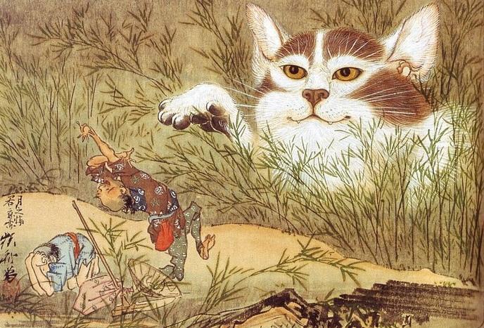 「遠野物語拾遺208(猫に化けた狐)」_f0075075_6203234.jpg