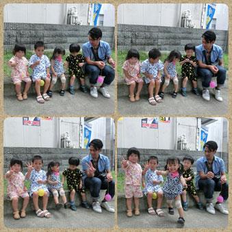 級友達と再会・・・幸せのちびっこ祭り♡_d0224894_13164149.jpg