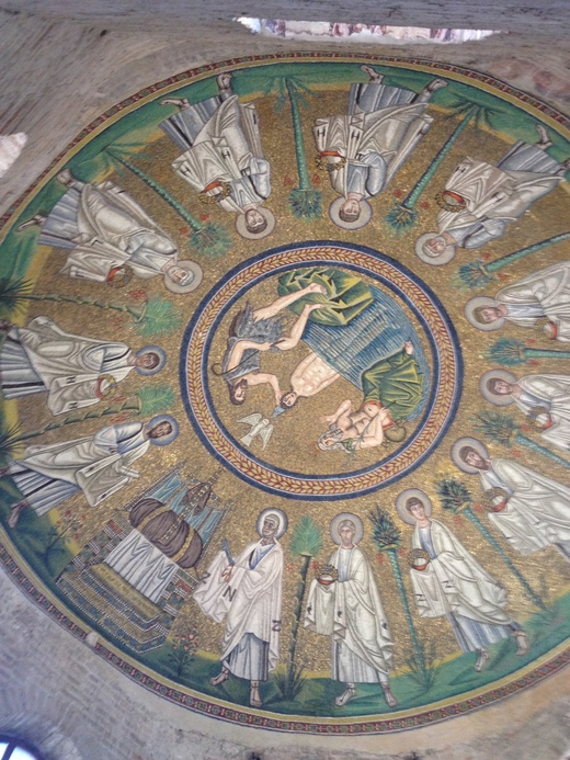 ラヴェンナ3:異端派の洗礼堂_a0136671_951440.jpg