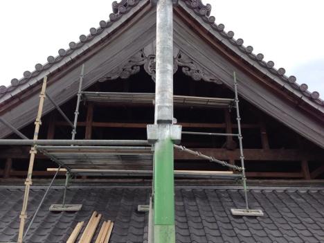 お寺、改修工事_b0283089_20564076.jpg