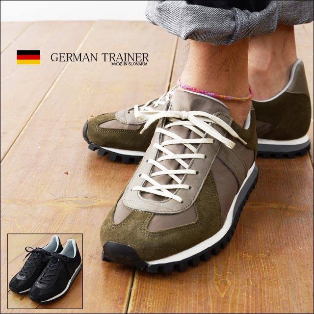 GERMAN TRAINER [ジャーマントレーナー] ジャーマンマラソン[3183] レザースニーカー MEN\'S_f0051306_2151778.jpg