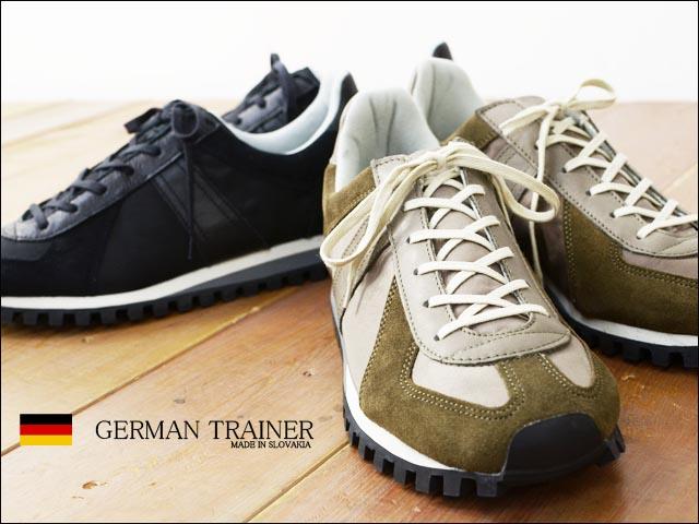 GERMAN TRAINER [ジャーマントレーナー] ジャーマンマラソン[3183] レザースニーカー MEN\'S_f0051306_2152297.jpg