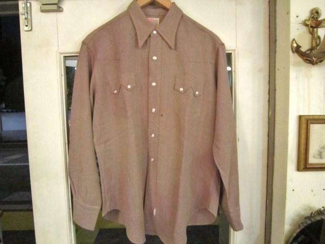 リーバイス ショートホーンタグのレーヨンギャバシャツ_a0182112_14541344.jpg