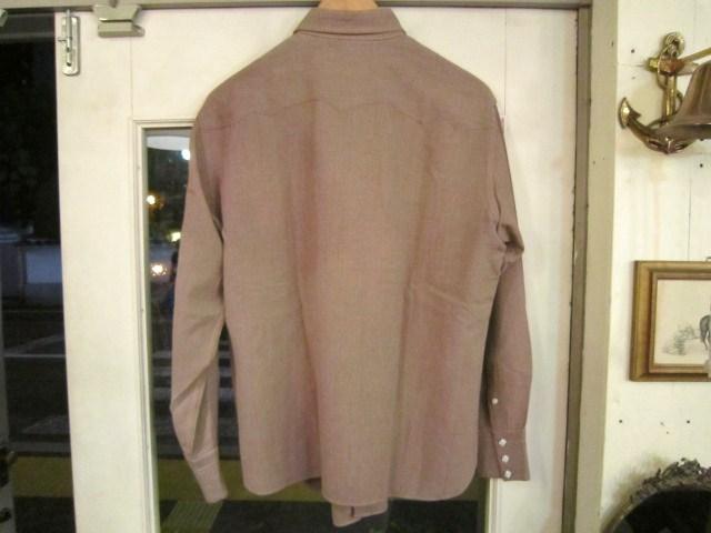 リーバイス ショートホーンタグのレーヨンギャバシャツ_a0182112_1454670.jpg