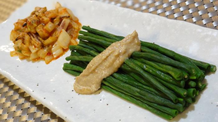 砂肝のサラダ&銀鱈の味噌漬け_b0290816_20262063.jpg