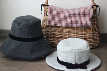 冬の帽子・・・♪_f0168730_14281547.jpg
