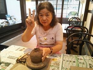 第27回むくのき倶楽部陶芸教室_f0233340_142358.jpg