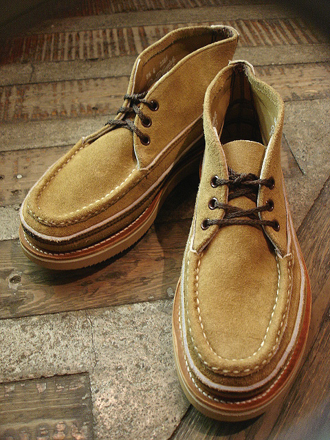 "RUSSELL MOCCASIN CO.[Sporting Clays Chukka] & [""PREMIER\"" COUNTRY OXFORD]_a0132147_2128530.jpg"