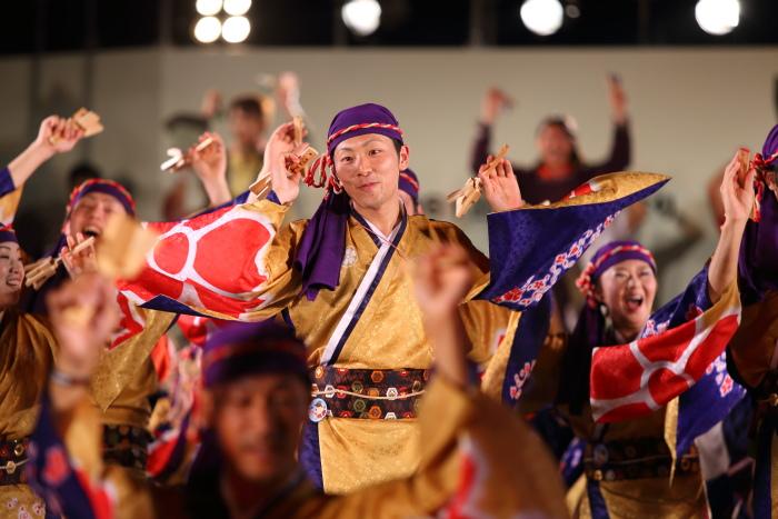第61回よさこい祭り 後夜祭 総踊り_a0077663_19111590.jpg