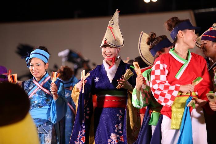 第61回よさこい祭り 後夜祭 総踊り_a0077663_19113010.jpg