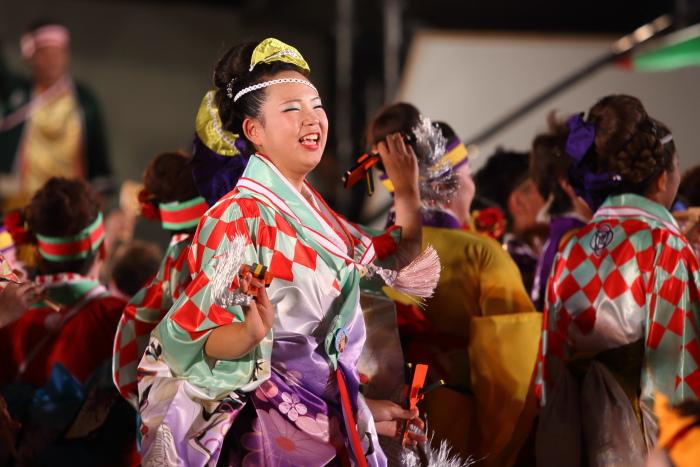第61回よさこい祭り 後夜祭 総踊り_a0077663_19113643.jpg