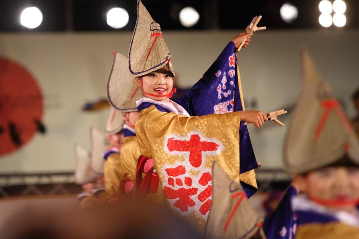 第61回よさこい祭り 後夜祭 十人十彩_a0077663_1971972.jpg