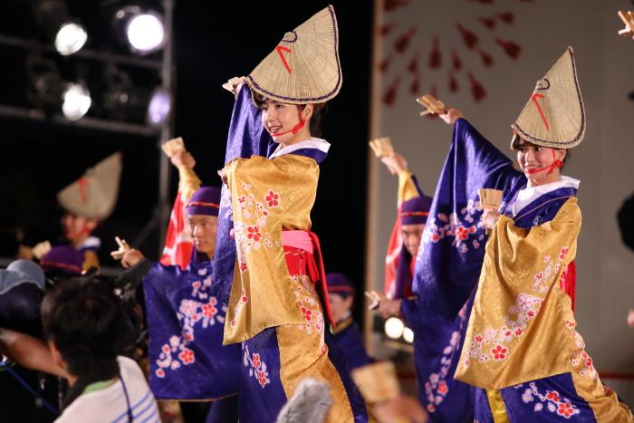 第61回よさこい祭り 後夜祭 十人十彩_a0077663_1972934.jpg