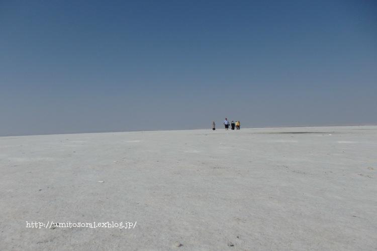 白い湖 @トルコ_b0324291_20403844.jpg