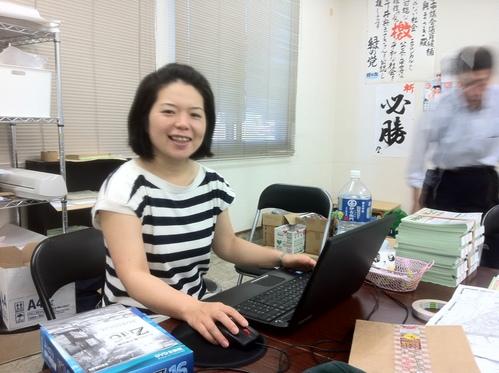 兵庫県高砂市議会議員選挙「緑の党」公認候補「井奥まさき」さんの応援に来ています_d0174710_12434153.jpg