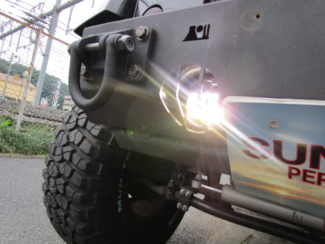 JK ラングラー カスタム LED ヘッドライト & LED フォグ& マフラー_b0123820_11341279.jpg