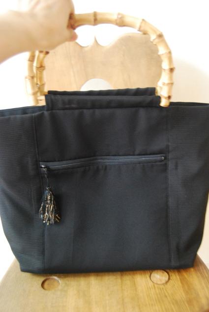 着物リメイク・絽で作ったbag_d0127925_16555764.jpg