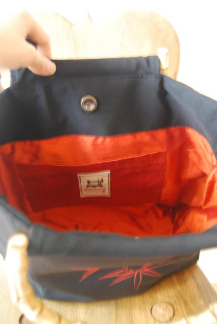 着物リメイク・絽で作ったbag_d0127925_16562712.jpg