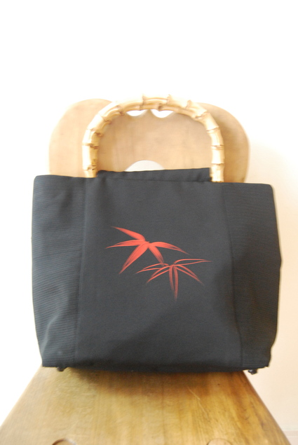 着物リメイク・絽で作ったbag_d0127925_16574294.jpg