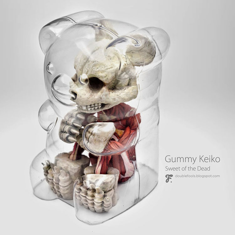 Gummy Keiko - Sweet of the Dead by Fools Paradise_e0118156_9194257.jpg