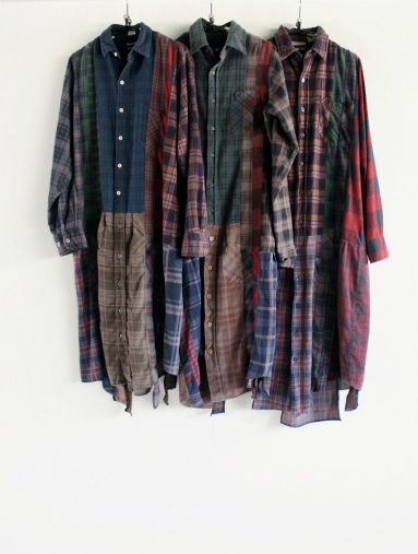 Rebuild By Needles 7 Cut Flannel Dress (REMAKE) (LADIES ONLY)_b0139281_17141920.jpg