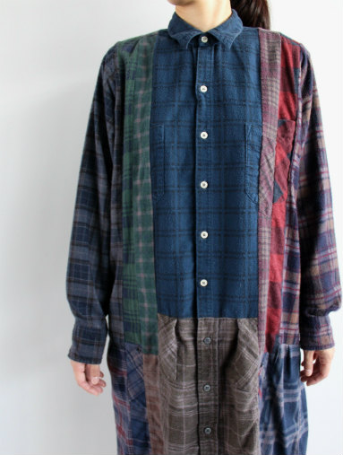 Rebuild By Needles 7 Cut Flannel Dress (REMAKE) (LADIES ONLY)_b0139281_17144430.jpg