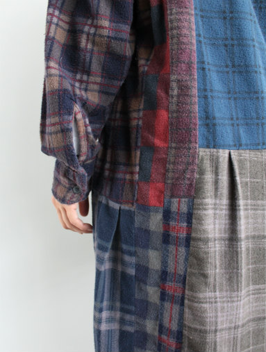 Rebuild By Needles 7 Cut Flannel Dress (REMAKE) (LADIES ONLY)_b0139281_17145278.jpg