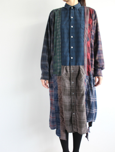 Rebuild By Needles 7 Cut Flannel Dress (REMAKE) (LADIES ONLY)_b0139281_17161178.jpg
