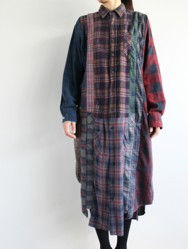Rebuild By Needles 7 Cut Flannel Dress (REMAKE) (LADIES ONLY)_b0139281_17162342.jpg