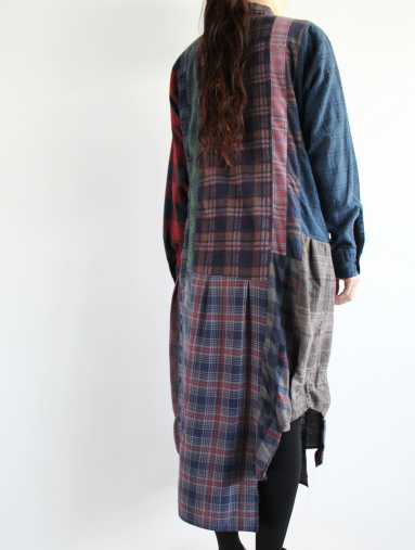 Rebuild By Needles 7 Cut Flannel Dress (REMAKE) (LADIES ONLY)_b0139281_17163267.jpg