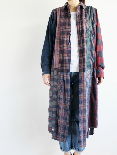Rebuild By Needles 7 Cut Flannel Dress (REMAKE) (LADIES ONLY)_b0139281_17164051.jpg