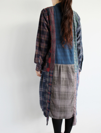 Rebuild By Needles 7 Cut Flannel Dress (REMAKE) (LADIES ONLY)_b0139281_17171123.jpg