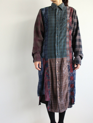 Rebuild By Needles 7 Cut Flannel Dress (REMAKE) (LADIES ONLY)_b0139281_17172013.jpg
