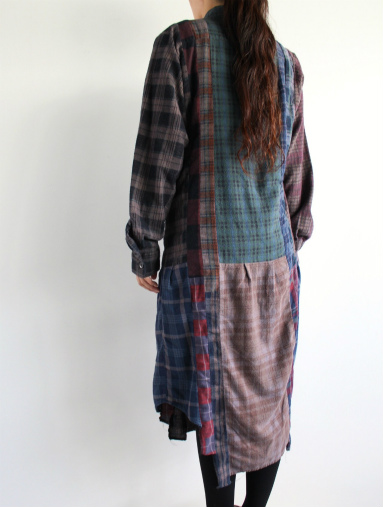 Rebuild By Needles 7 Cut Flannel Dress (REMAKE) (LADIES ONLY)_b0139281_17172783.jpg