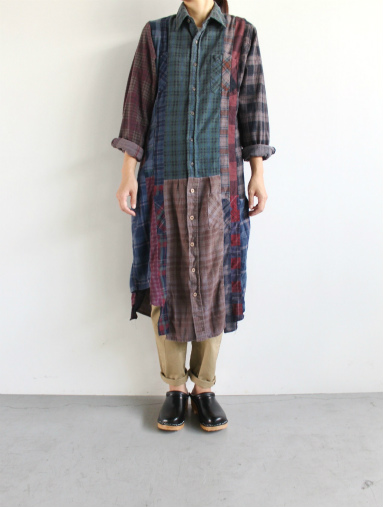Rebuild By Needles 7 Cut Flannel Dress (REMAKE) (LADIES ONLY)_b0139281_17253865.jpg