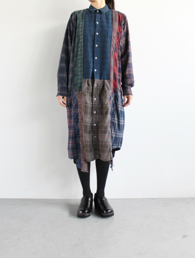 Rebuild By Needles 7 Cut Flannel Dress (REMAKE) (LADIES ONLY)_b0139281_17255589.jpg