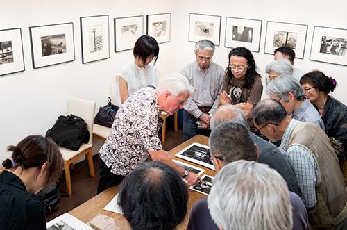 フィリップ・サルーン写真展、トークショー_b0194208_1273910.jpg