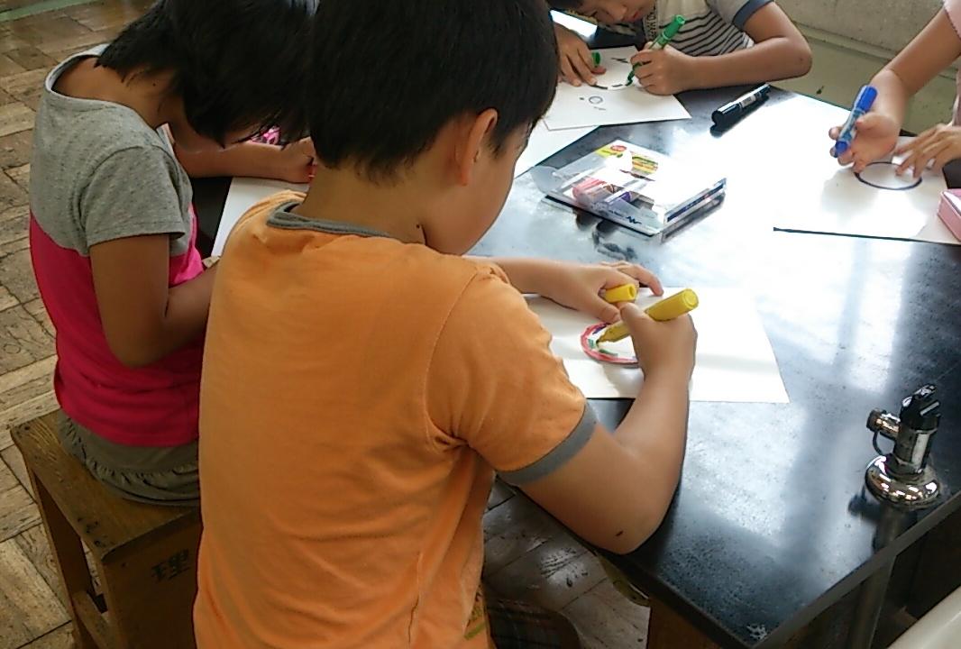 2014/08/26 ぶんぶんゴマ&マクスウェルのコマ@東調布第一小学校_f0240709_19345350.jpg