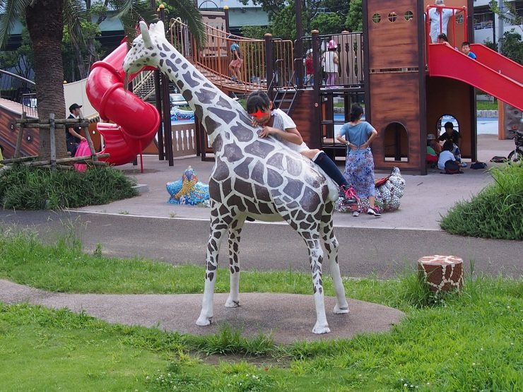 コレット井筒屋のあとで勝山公園へ行って良かった!_f0249710_00260638.jpg