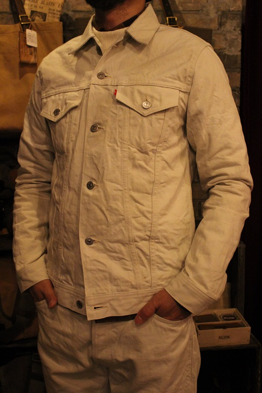 "ANACHRONORM \""White Denim Jacket & Pants\"" ご紹介_f0191324_9461531.jpg"