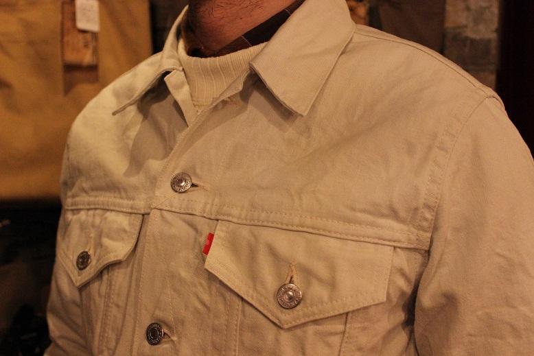 "ANACHRONORM \""White Denim Jacket & Pants\"" ご紹介_f0191324_9462345.jpg"