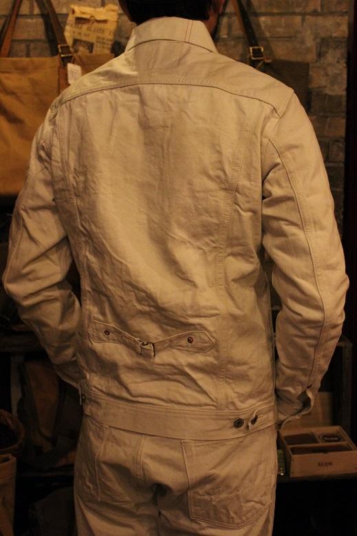 "ANACHRONORM \""White Denim Jacket & Pants\"" ご紹介_f0191324_9463083.jpg"