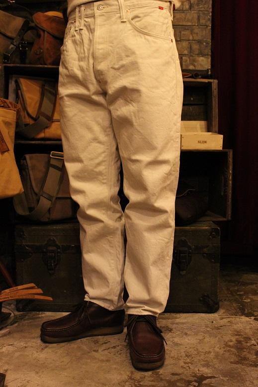 "ANACHRONORM \""White Denim Jacket & Pants\"" ご紹介_f0191324_9525312.jpg"