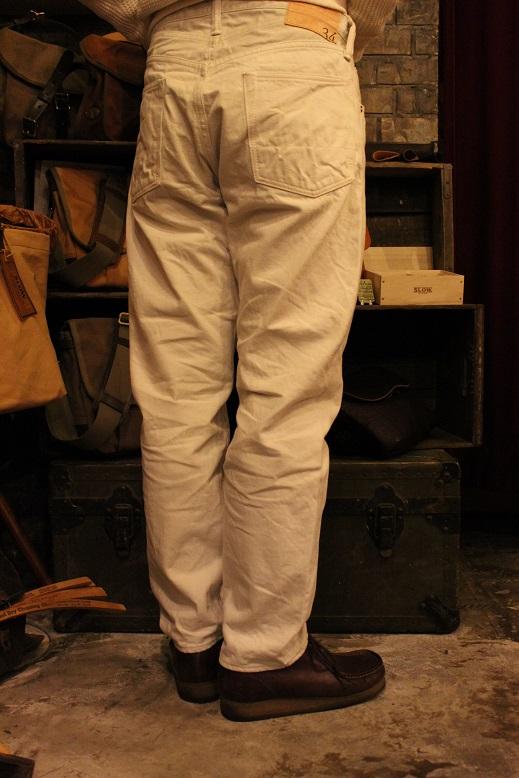 "ANACHRONORM \""White Denim Jacket & Pants\"" ご紹介_f0191324_9525589.jpg"