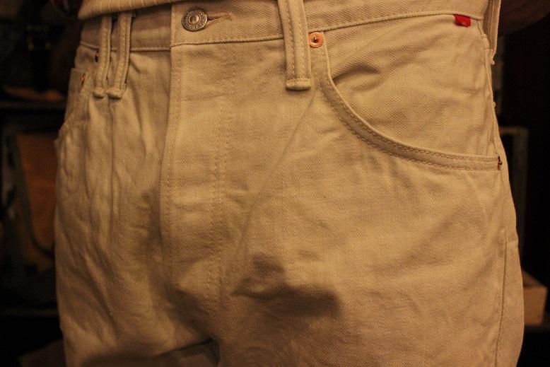 "ANACHRONORM \""White Denim Jacket & Pants\"" ご紹介_f0191324_9525932.jpg"
