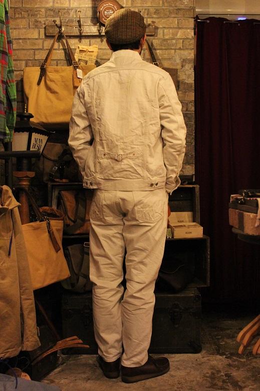 "ANACHRONORM \""White Denim Jacket & Pants\"" ご紹介_f0191324_9535797.jpg"