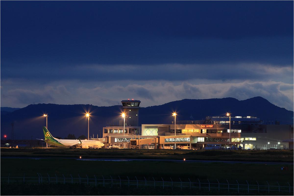 稜線 - 佐賀空港_c0308259_23553674.jpg