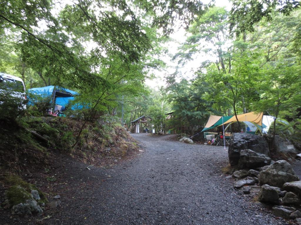 道志村の山伏オートキャンプ場_c0310571_06355674.jpg