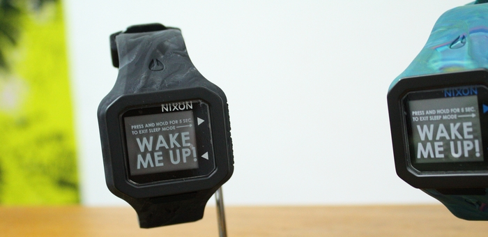 「NIXON SUPERTIDE MARBLED BLACK SMOKE」_f0208675_19492288.jpg