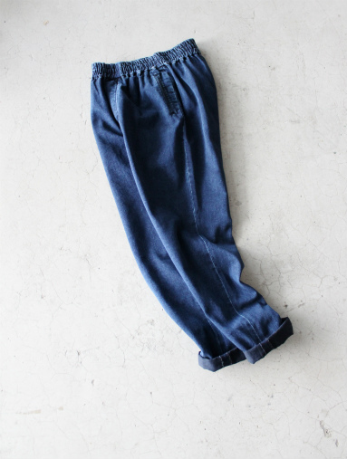 Honor gathering Heavy Cotton Tencel Twill Easy Trousers_b0139281_15472558.jpg